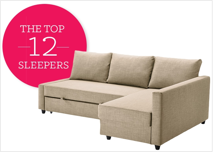 12 Affordable (And Chic) Sleeper Sofas For Small Living Spaces For Queen Size Convertible Sofa Beds (Image 1 of 20)