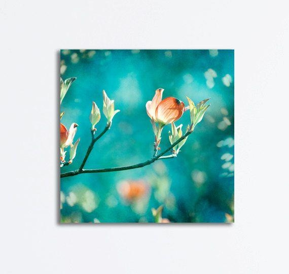 12 Best Art Images On Pinterest | Aqua, Canvas Art And Abstract Within Orange And Turquoise Wall Art (Image 1 of 20)