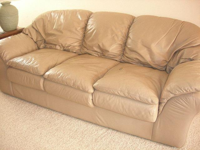 12 Best Leather Furniture Images On Pinterest | Leather Furniture With Regard To Beige Leather Couches (Image 2 of 20)