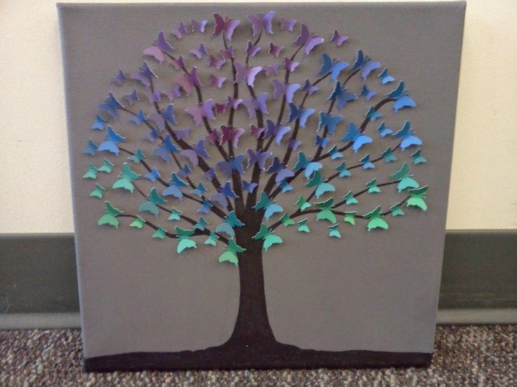 12 Best My 3D Canvas Paint Swatch Art Images On Pinterest | Paint Regarding 3D Tree Wall Art (View 18 of 20)