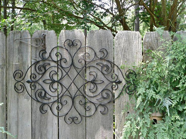 12 Best Outdoor Wall Art Images On Pinterest | Outdoor Walls With Regard To Wrought Iron Garden Wall Art (View 16 of 20)