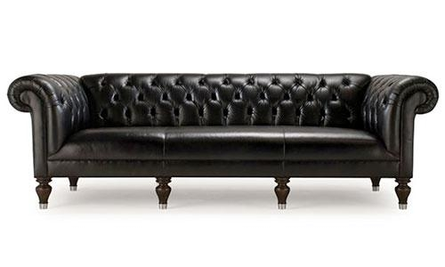 12 Gorgeous Tufted Leather Sofas Intended For Brown Tufted Sofas (View 20 of 20)