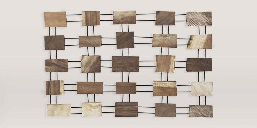 12 Wood Wall Art Pieces In 2017 – Reviews Of Rustic Wood Wall Decor Within Natural Wood Wall Art (Image 2 of 20)