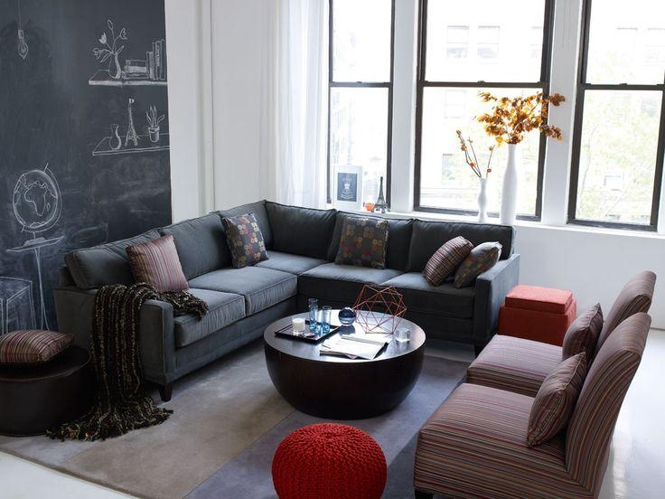 120 Best Rowe Images On Pinterest | Slipcovers, Upholstery And Throughout Rowe Sectional Sofas (View 6 of 20)