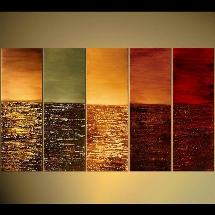 121 Best Multi Panel Art Images On Pinterest | Panel Art, Canvas With Multiple Panel Wall Art (Image 2 of 20)
