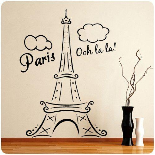 122 Best Oh La La Paris Themed Nursery Images On Pinterest Within Paris Theme Wall Art (Image 1 of 20)
