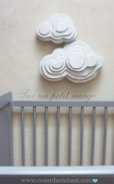 123 Best Cardboard – Diy Wall Art & Sculpture Images On Pinterest With 3D Clouds Out Of Paper Wall Art (View 15 of 20)