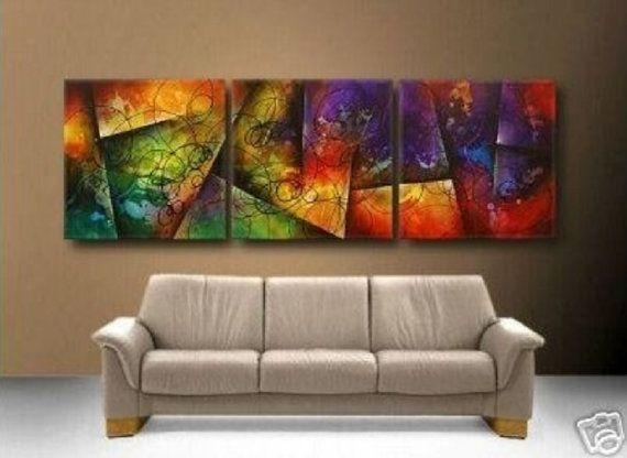 13 Best Vibrant Canvas! Images On Pinterest | Abstract, Abstract With Vibrant Wall Art (View 17 of 20)