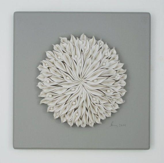 1313 Best Ceramic Tiles And Wall Panels Images On Pinterest Intended For White 3D Wall Art (View 4 of 20)