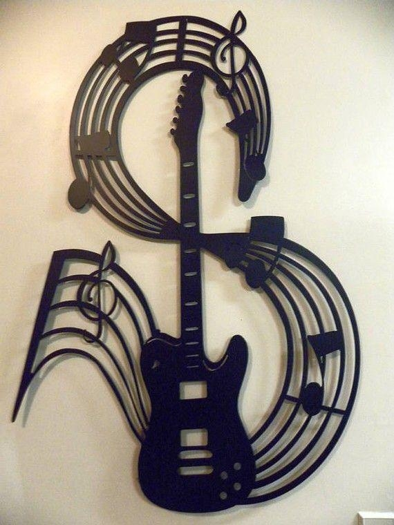 134 Best Plasma Art Cutouts Images On Pinterest | Metal Walls Throughout Metal Music Notes Wall Art (View 6 of 20)