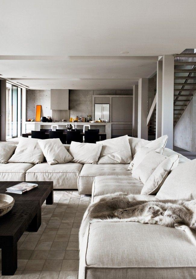 134 Best Sofas Images On Pinterest | Home, Architecture And Spaces Within Big Comfy Sofas (Image 1 of 20)