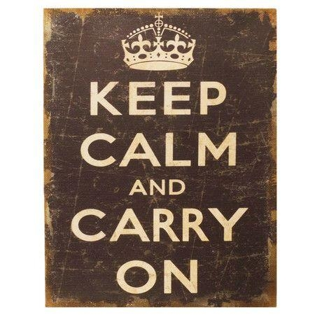 135 Best Keep Calm And Carry On Images On Pinterest | Carry On For Keep Calm And Carry On Wall Art (Image 2 of 20)