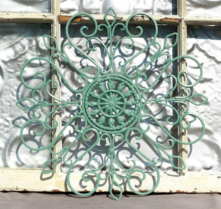 136 Best Anything Made Of Metal And Iron Images On Pinterest Regarding Wrought Iron Garden Wall Art (View 9 of 20)