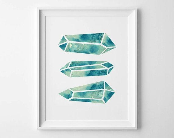137 Best Gem Artwork Images On Pinterest | Gem, Art Posters And For Gemstone Wall Art (Image 2 of 20)