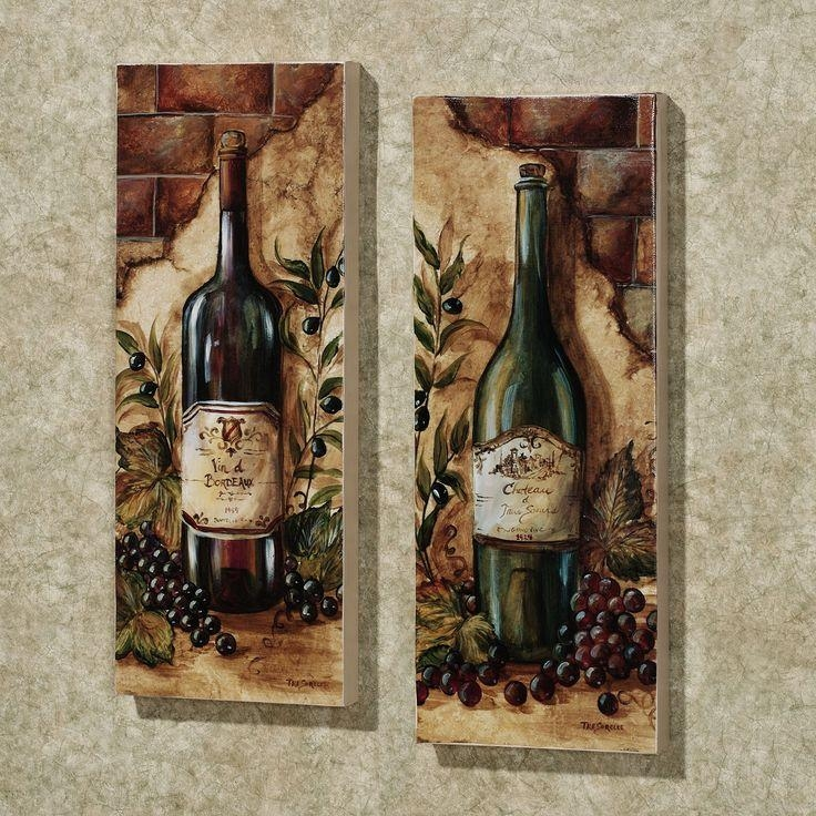 Wine Themed Home Decor: 20 Inspirations Wine Theme Wall Art