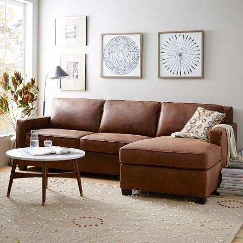 14 Best Chaise Sofa Styles In 2017 – Chic Sofas With A Chaise Lounge Within Chaise Sofas (Image 4 of 20)