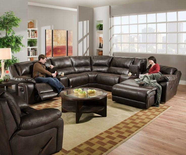 14 Best Leather Sectional Images On Pinterest | Brown Leather Regarding Black Leather Chaise Sofas (View 17 of 20)