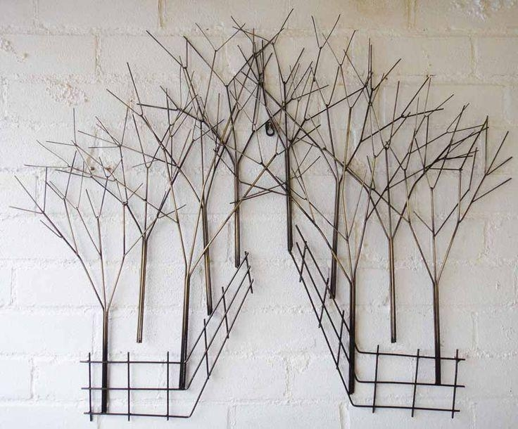 14 Best Metal Wall Art Images On Pinterest | Metal Walls, Metal With Regard To Wire Wall Art Decors (View 4 of 20)