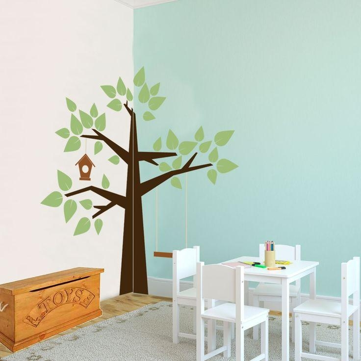 14 Best Tree Wall Decals Images On Pinterest | Tree Wall Decals For Preschool Classroom Wall Decals (Image 1 of 20)
