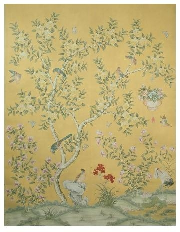 142 Best Chinoiserie Murals And More Images On Pinterest Regarding Chinoiserie Wall Art (Image 2 of 20)