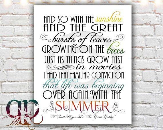 144 Best Great Gatsby Images On Pinterest With Regard To Great Gatsby Wall Art (Image 1 of 20)