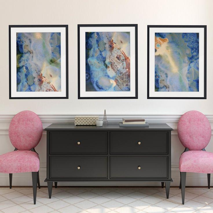 146 Best Abstract Framed Wall Art Images On Pinterest | Framed Within Large Framed Wall Art (Image 1 of 20)