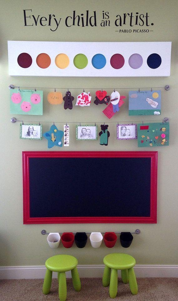 147 Best Playroom Ideas Images On Pinterest | Nursery, Playroom Inside Wall Art For Playroom (Image 1 of 20)