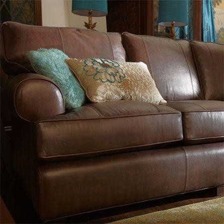 148 Best A&t Living Room Images On Pinterest | Living Room Ideas In Arhaus Leather Sofas (Image 1 of 20)