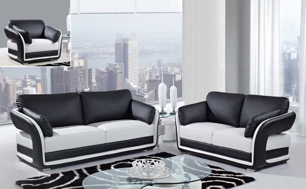 20 Best Black And White Sofas And Loveseats