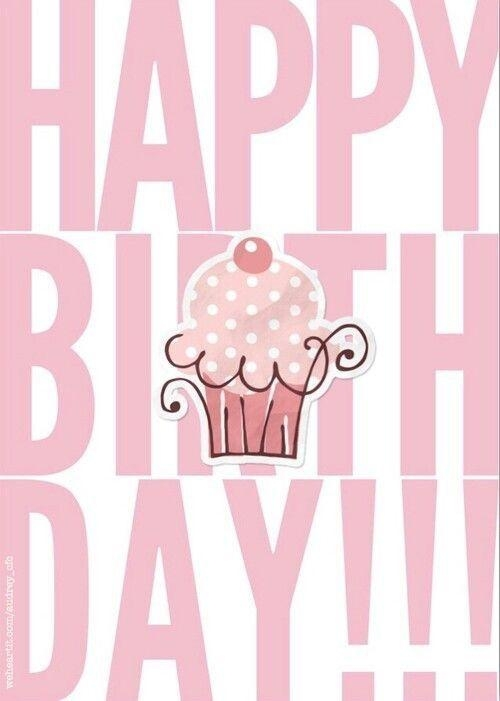 152 Best ❤️greetings❤ Images On Pinterest | Birthday Regarding Happy Birthday Wall Art (Image 2 of 20)