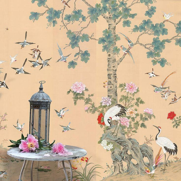 1538 Best Chinoiserie Images On Pinterest | Chinoiserie Within Chinoiserie Wall Art (Image 3 of 20)