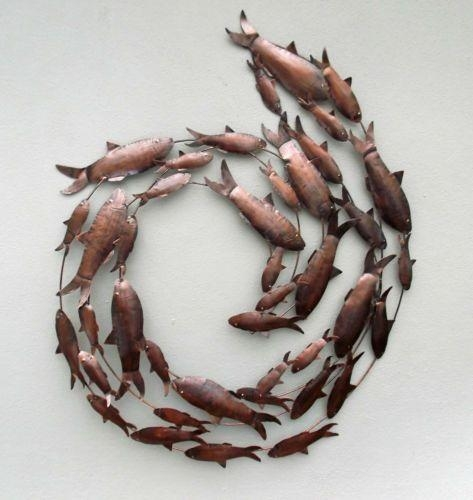 16 Best Plantation Designs Wall Art Images On Pinterest | Hand For Fish Shoal Metal Wall Art (Image 2 of 20)