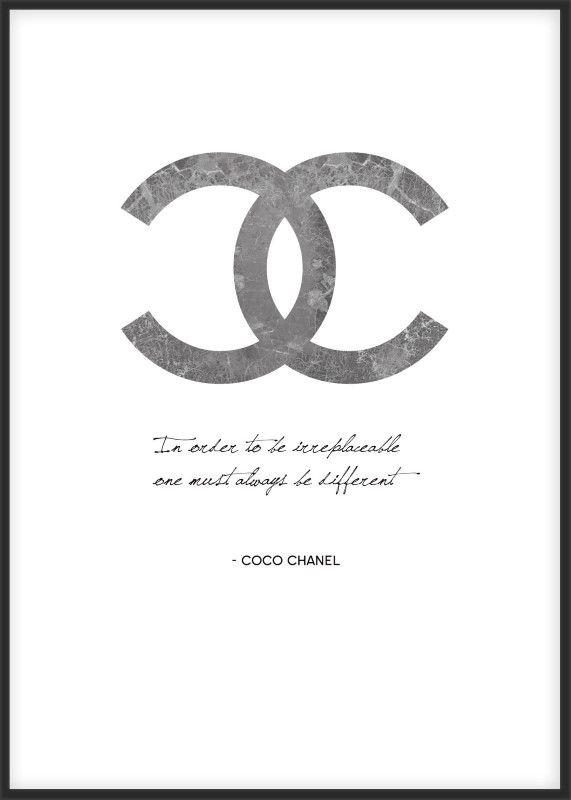 162 Best Posters/art Images On Pinterest | Posters, Drawings And In Coco Chanel Quotes Framed Wall Art (View 17 of 20)