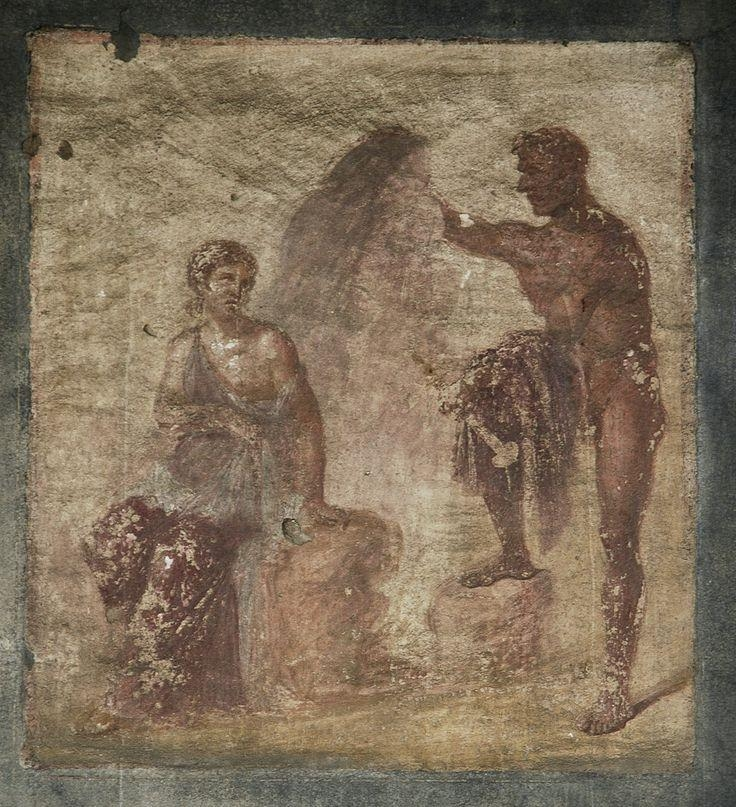 164 Best Roman Painting Images On Pinterest | Fresh, Ancient Art Regarding Ancient Greek Wall Art (Image 2 of 20)