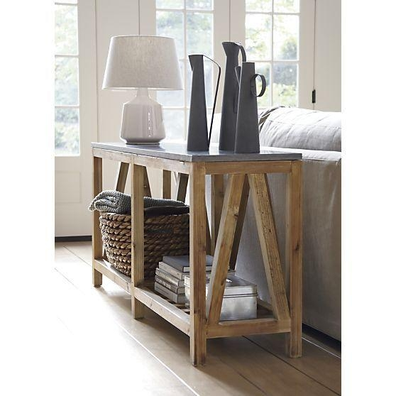 165 Best Everything Crate Images On Pinterest | Crates, Barrels For Crate And Barrel Sofa Tables (View 2 of 20)