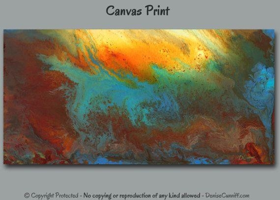 166 Best Colors Red + Aqua, Teal, Turquoise, Robin's Egg Blue Inside Orange And Turquoise Wall Art (Image 2 of 20)