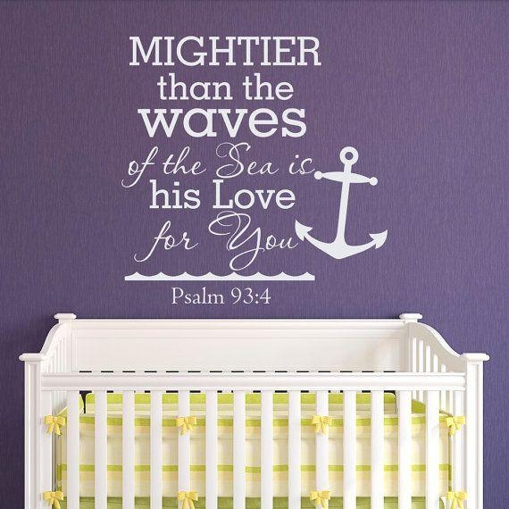 17 Best Bible Verse | Scripture Wall Decals Images On Pinterest Within Nursery Bible Verses Wall Decals (Image 2 of 20)