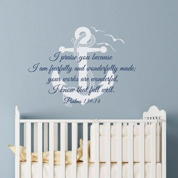17 Best Bible Verse | Scripture Wall Decals Images On Pinterest Within Nursery Bible Verses Wall Decals (Image 1 of 20)