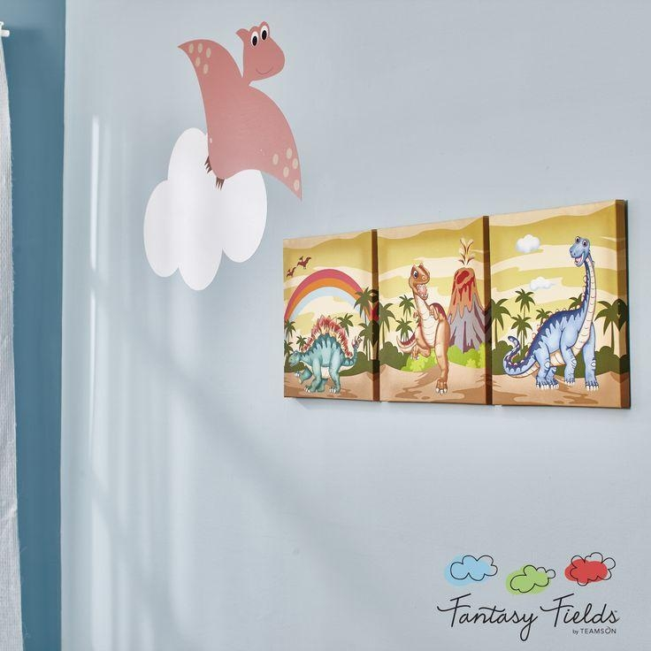 17 Best Dino Room Images On Pinterest | Dinosaurs, Big Boy Rooms Inside Dinosaur Canvas Wall Art (View 19 of 20)