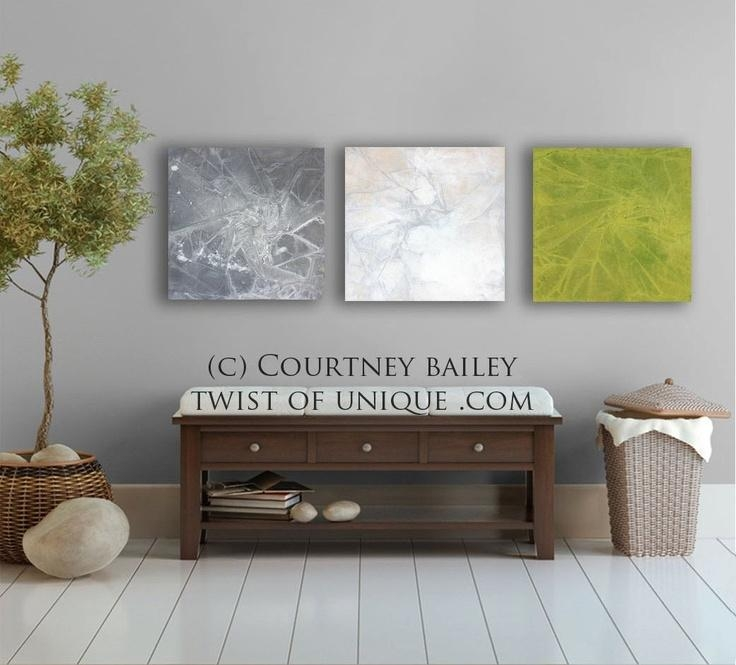 17 Best Gg Shop Images On Pinterest | Colors, Green And Gray And Regarding Large Green Wall Art (View 18 of 20)