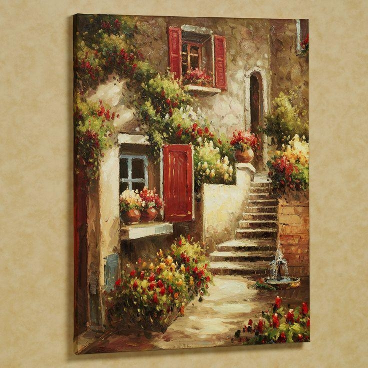 20 Best Ideas Italian Style Metal Wall Art: 20 Best Collection Of Tuscany Wall Art