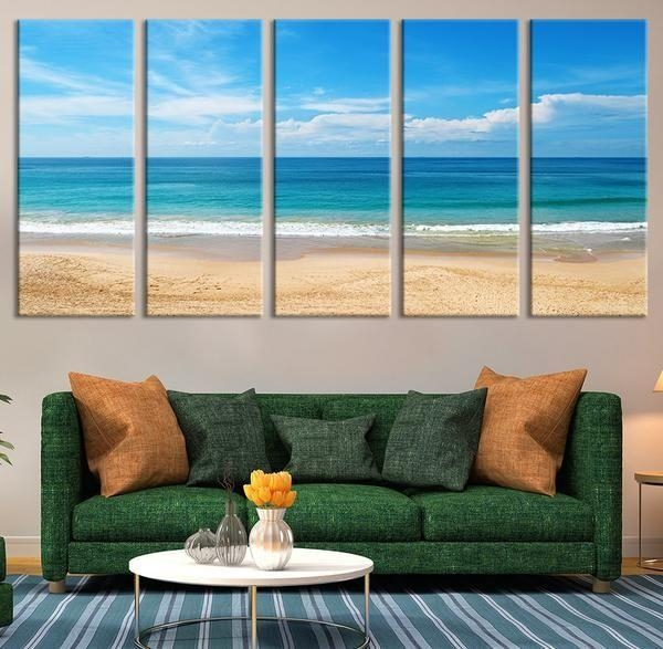 17 Best Wall Art Images On Pinterest | Canvas Prints, Large Wall In Beach Wall Art (Image 1 of 20)