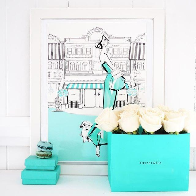 172 Best Tiffany Blue Images On Pinterest | Tiffany Blue, Tiffany For Tiffany And Co Wall Art (Image 1 of 20)