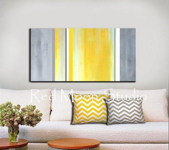 174 Best Modern Art Images On Pinterest | Painting, Paintings And Pertaining To Large Yellow Wall Art (Image 2 of 20)