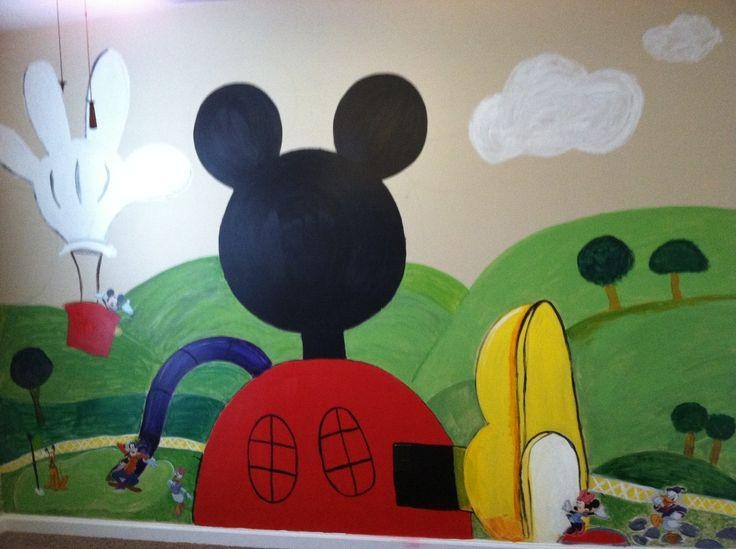18 Best Mickey Mouse Clubhouse Bedroom Images On Pinterest With Mickey Mouse Clubhouse Wall Art (Image 2 of 20)