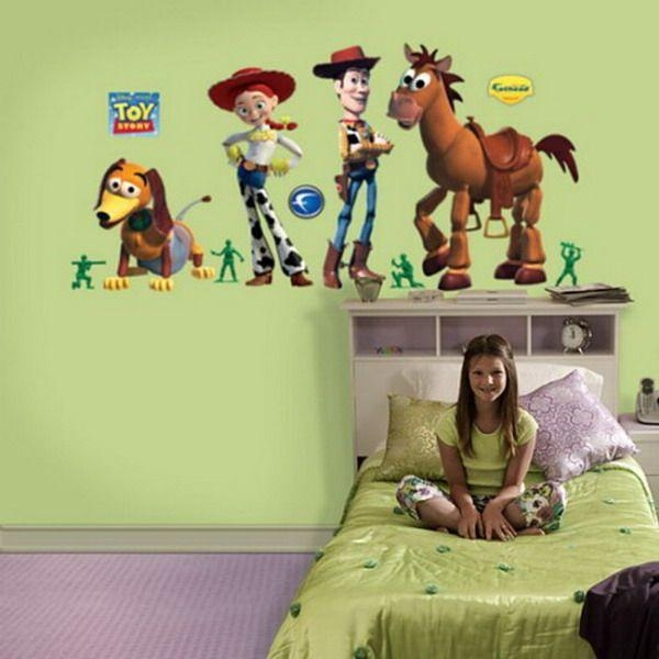 18 Best Nico Room Images On Pinterest | Toy Story Bedroom, Babies Intended For Toy Story Wall Stickers (Image 1 of 20)