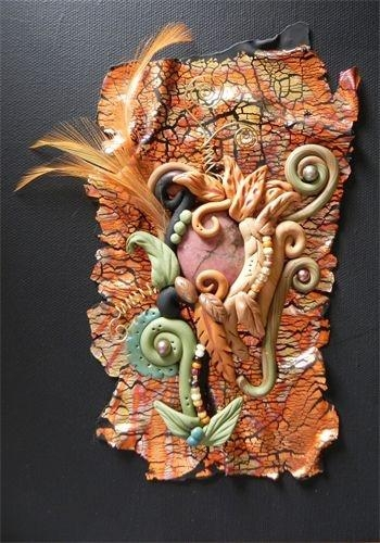 18 Best Polymer Clay Wall Arti Love It Images On Pinterest With Polymer Clay Wall Art (Photo 1 of 20)