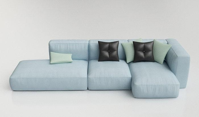 18 Modern Modular Seating Systems – Vurni Inside Small Modular Sofas (Image 3 of 20)