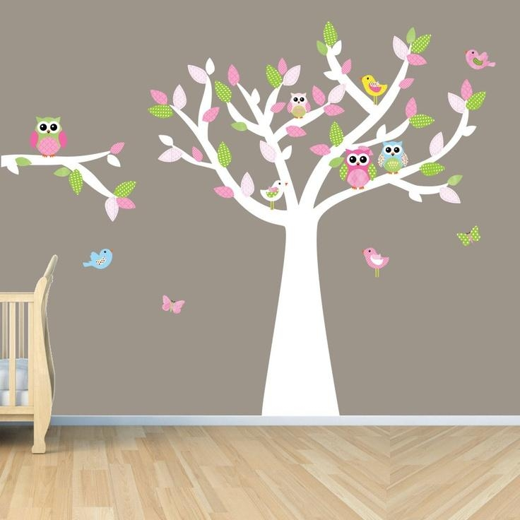 19 Best Habitacion Infantil Images On Pinterest | Tree Wall Decals With Regard To Owl Wall Art Stickers (Image 3 of 20)