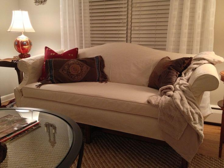 19 Best Sofa Slipcover Images On Pinterest | Sofa Slipcovers Pertaining To Camel Back Couch Slipcovers (View 14 of 20)